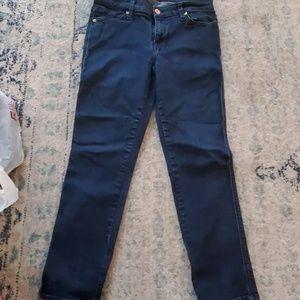 Women's slim straight jean